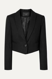 Equipment Blazer raccourci en laine Wright