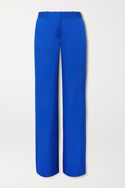Equipment Pantalon large en satin Arwen
