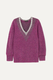 Jonie brushed knitted sweater