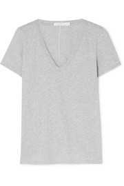 The Vee Pima cotton-jersey T-shirt
