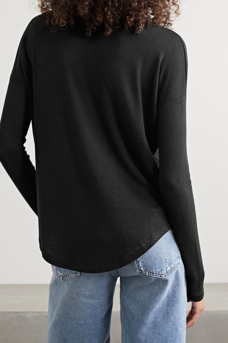 Black Hudson stretch-jersey top   rag & bone HaB7t0