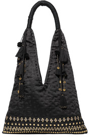 Ulla Johnson Lalo embellished satin tote