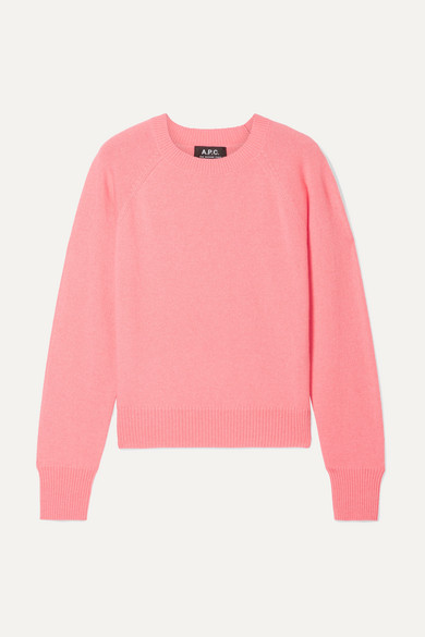 Stirling Cashmere Sweater in Coral