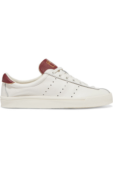 Lacombe textured leather sneakers