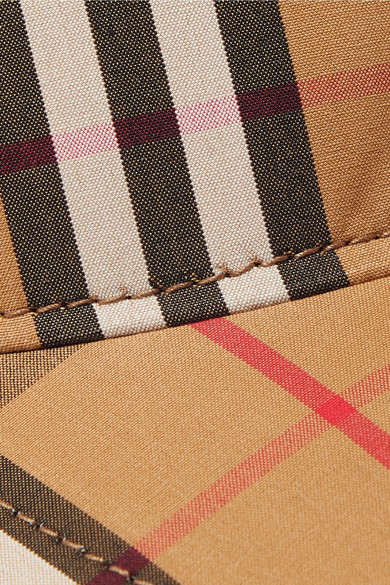 Burberry. Checked cotton-canvas baseball cap.  320. Zoom In 9e574e4977