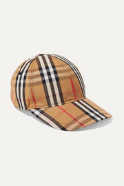 Burberry Checked cotton-canvas baseball cap