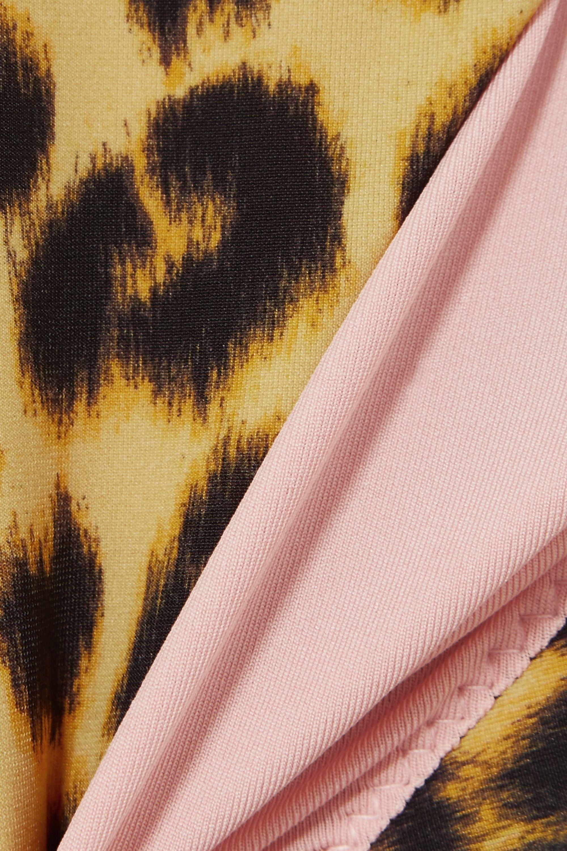 Les Girls Les Boys Leopard-print swimsuit