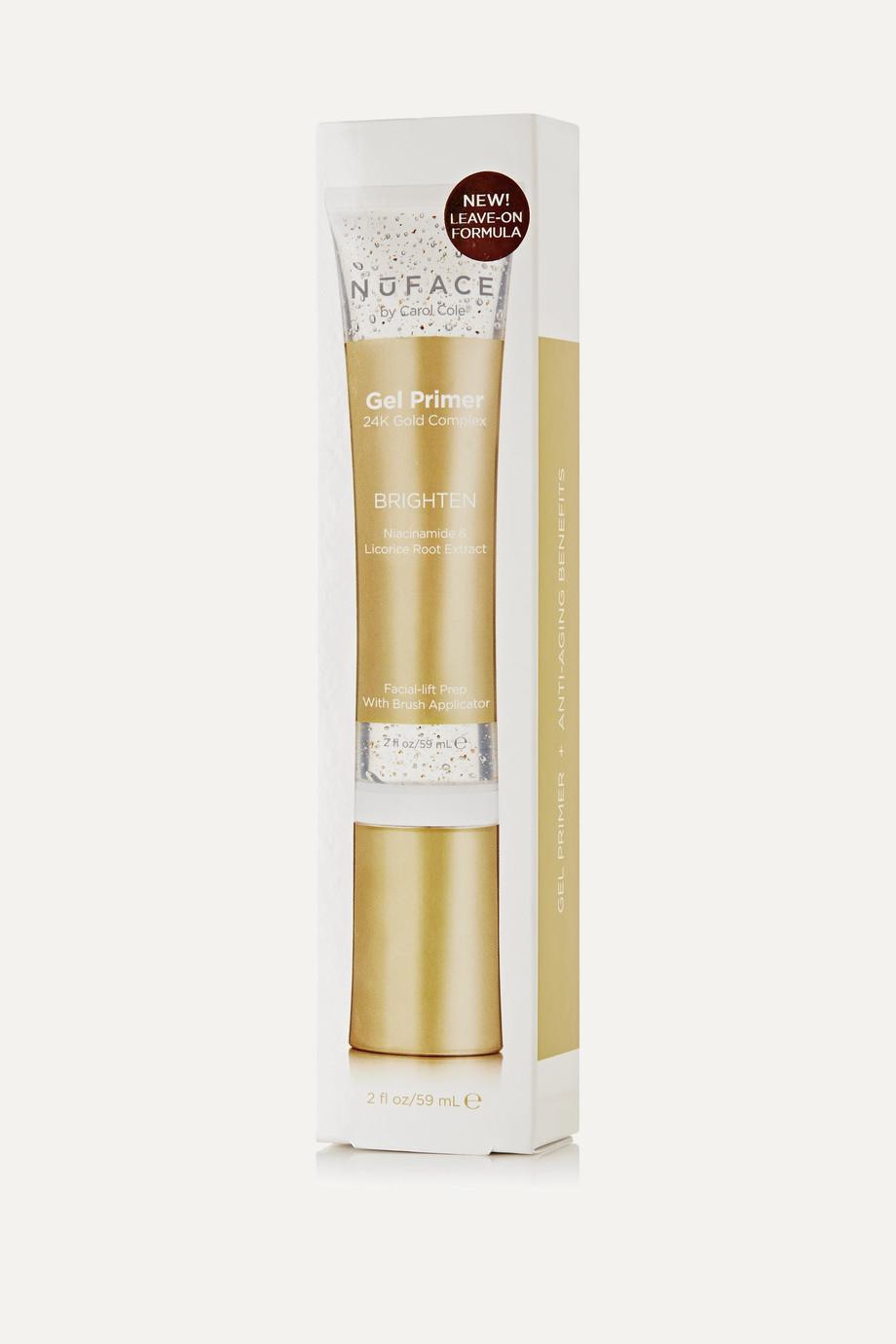 NuFACE Brightening Gel Primer 24k Gold Complex, 59 ml – Primer