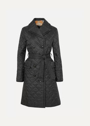 Burberry The Horberie quilted shell trench coat