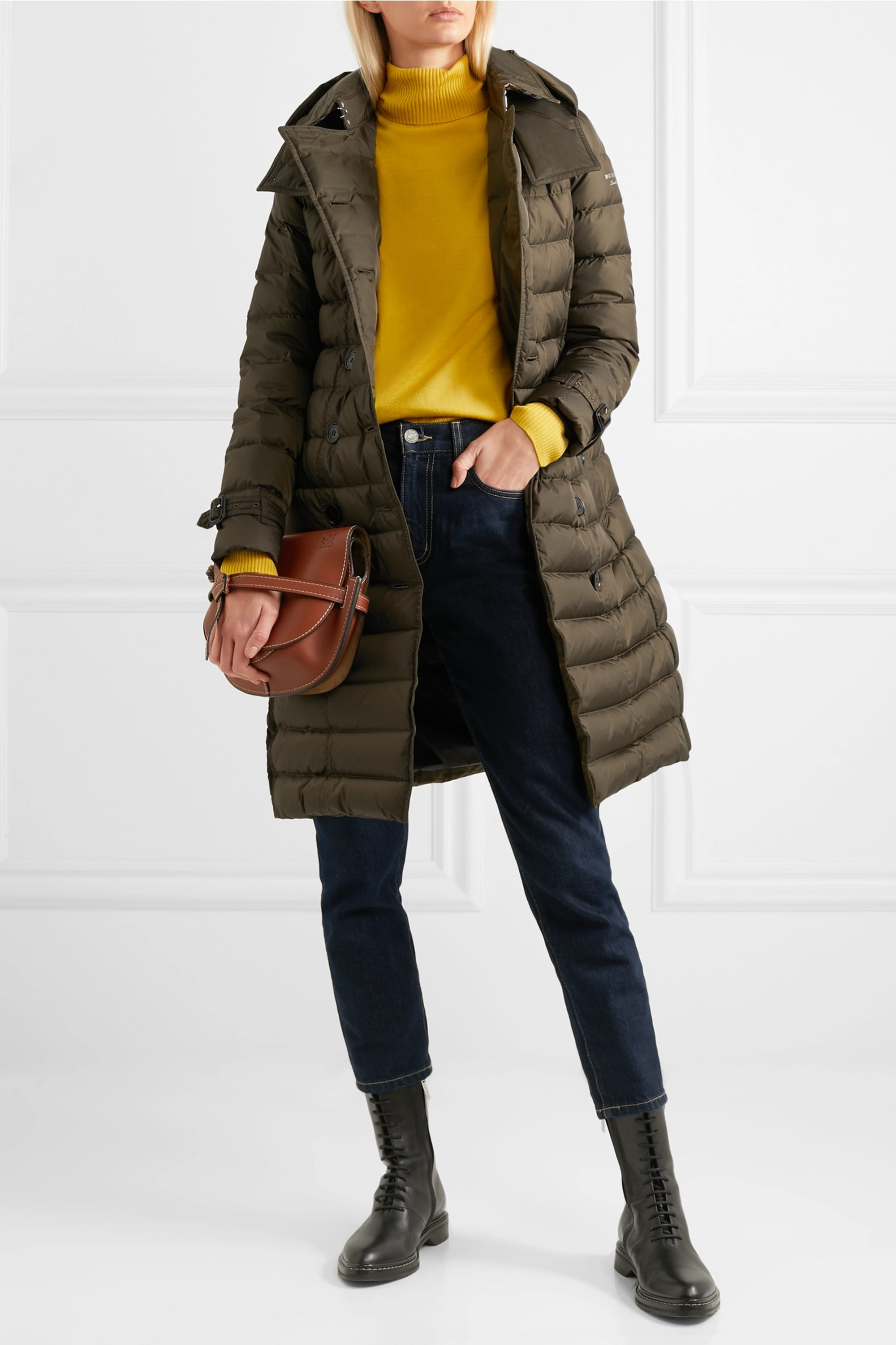 Burberry Quilted shell down coat
