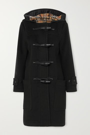 Burberry Hooded wool-blend duffle coat