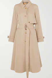 The Cinderford wool-gabardine trench coat