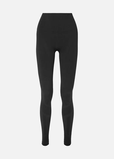LNDR | LNDR - Eight Eight Paneled Stretch Leggings - Black | Goxip