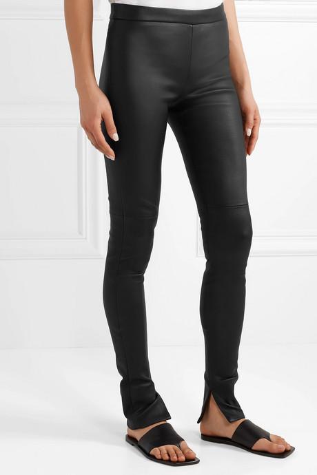 Fria leather skinny pants