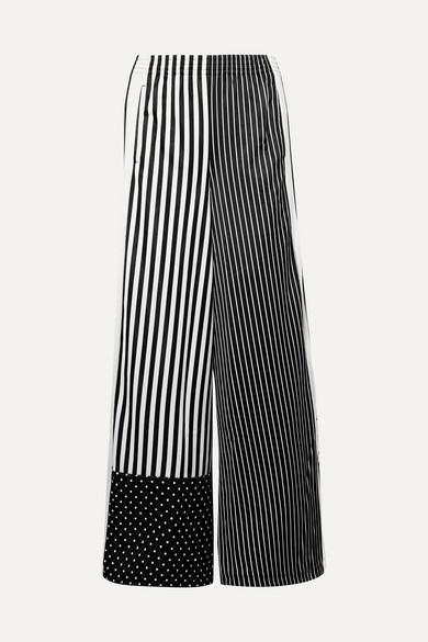 9ef92c00e4 adidas Originals | Striped satin-jersey track pants | NET-A-PORTER.COM
