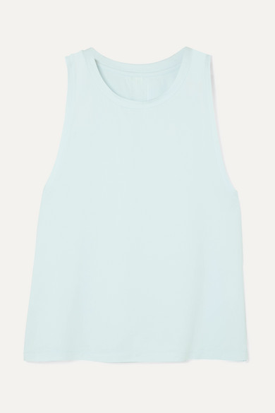 WE/ME The Foundation Stretch-Jersey Tank in Blue