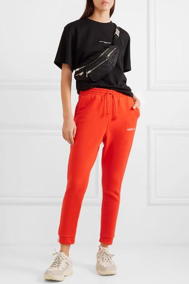 Coeeze organic cotton blend jersey track pants