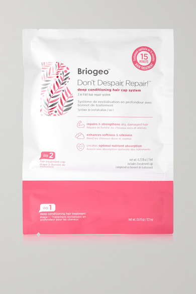 Briogeo - Don't Despair, Repair! Deep Conditioning Hair Cap System, 4 X 24.7ml - Colorless