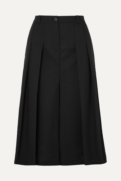 Mcq Alexander Mcqueen Black Atami Cropped Trousers