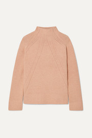 Aleyah oversized wool-blend turtleneck sweater
