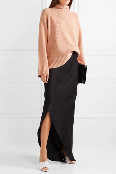 fdbc3486974 By Malene Birger | Aliviay asymmetric crepe de chine maxi skirt ...