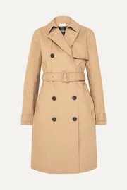 Rainie cotton-gabardine trench coat