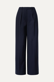 Enil wool-blend wide-leg pants