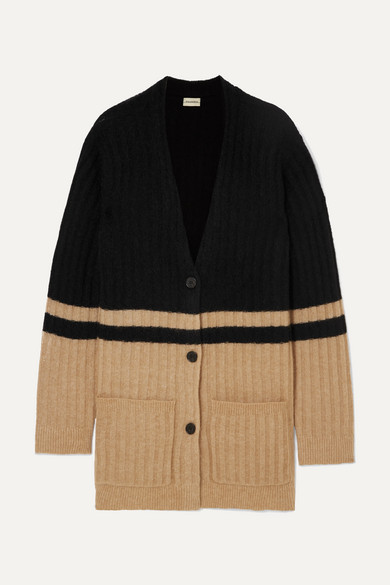 Congoe Striped Knitted Cardigan by By Malene Birger