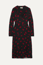 Botall printed crepe midi dress