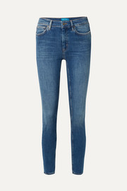 Bridge high-rise skinny jeans