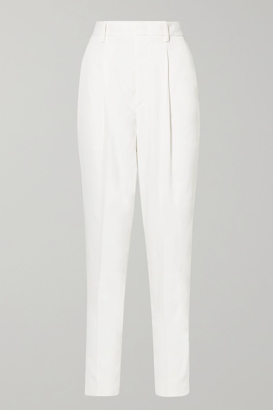 Isabel Marant Poyd crepe straight-leg pants