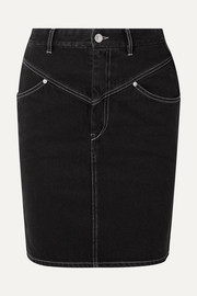 Lorine denim skirt