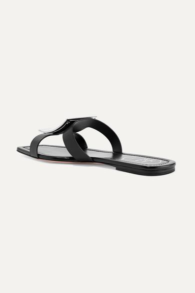 Roger Vivier Slippers Biki Viv' embellished leather slides
