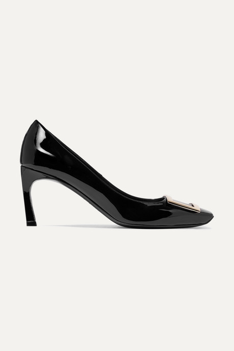 Black Belle Vivier Trompette patent-leather pumps | Roger Vivier mndiDK