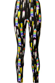 Gucci Printed stretch-jersey leggings
