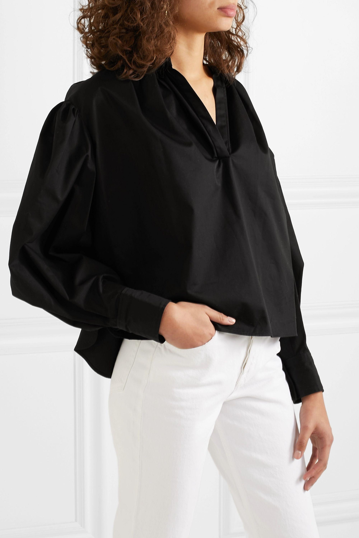 Isabel Marant Étoile Olto cotton-poplin blouse