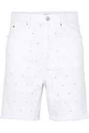 이자벨 마랑 에뚜왈 마랑 데님 반바지 Isabel Marant Etoile Liny distressed denim shorts