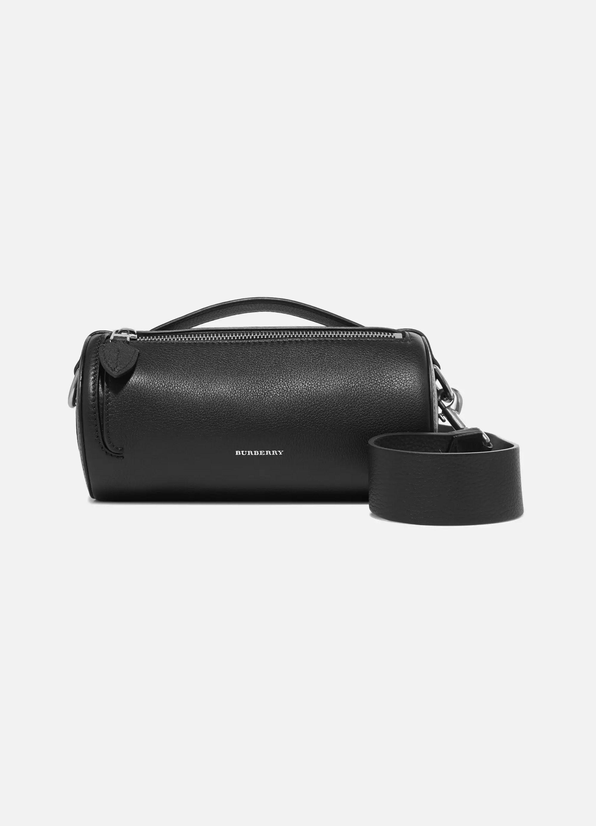 Burberry Textured-leather shoulder bag