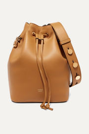 Mon Trésor leather bucket bag
