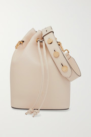 Mon Trésor large leather bucket bag