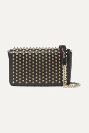 Christian Louboutin Zoompouch spiked leather shoulder bag