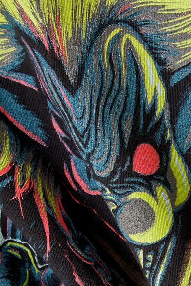 印花棉质针织T恤展示图