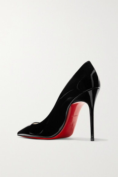 sale usa online 100% quality quality Christian Louboutin | Décolleté 554 100 patent-leather pumps ...