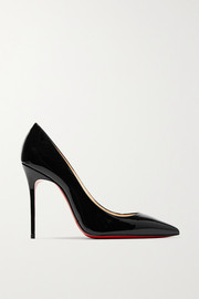 Christian Louboutin Décolleté 554 100 Pumps aus Lackleder