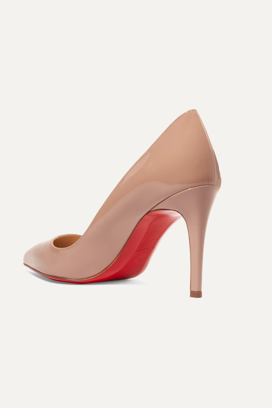 a6b4bf32cecd Christian Louboutin Pigalle Follies 85 patent-leather pumps