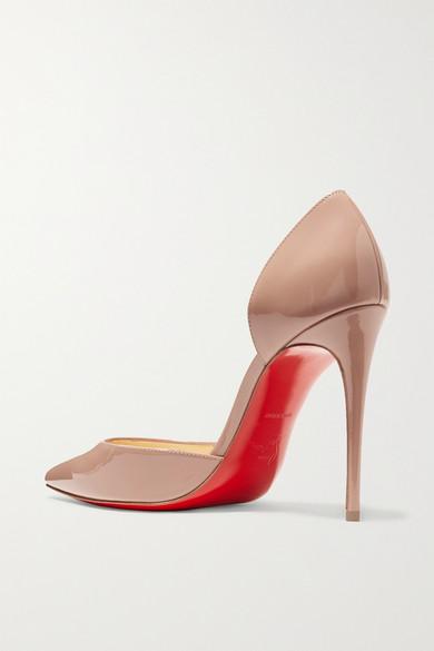 reputable site 8df52 82869 Christian Louboutin | Iriza 100 patent-leather pumps | NET-A ...
