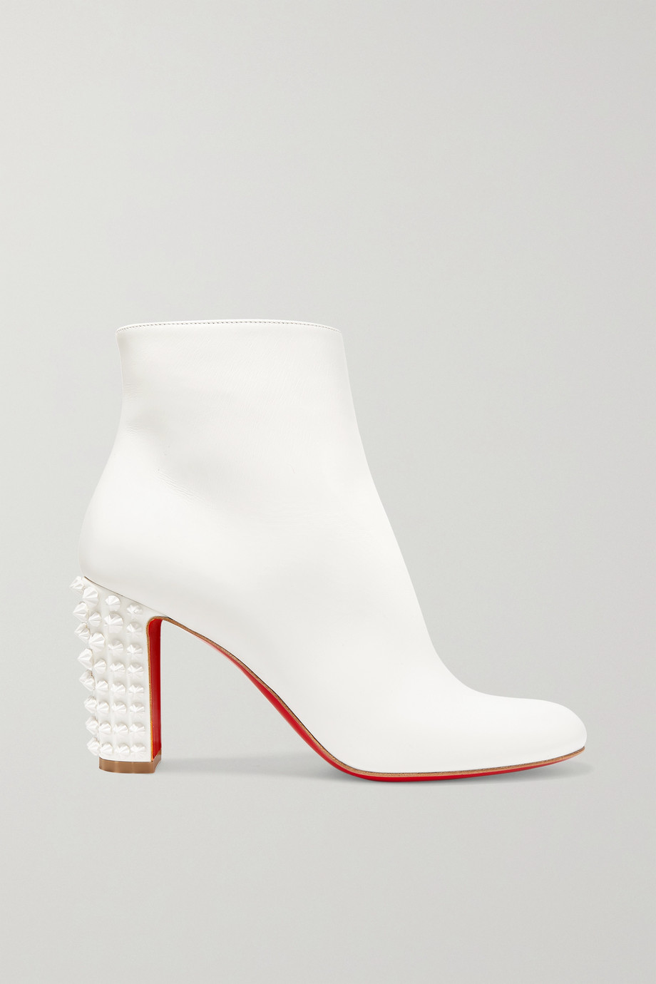 Christian Louboutin Suzi Folk 85 spiked leather ankle boots