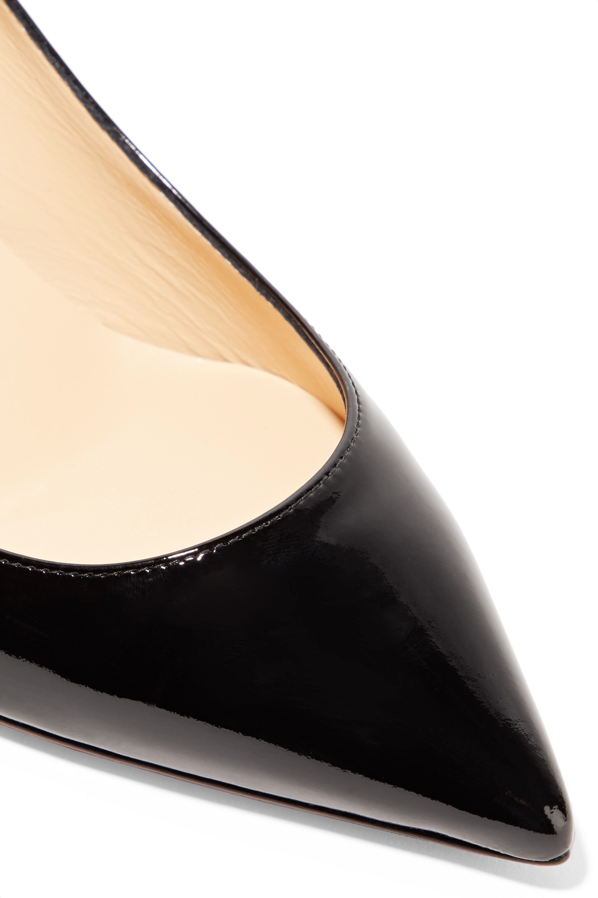 Christian Louboutin Pigalle Follies 55 patent-leather pumps
