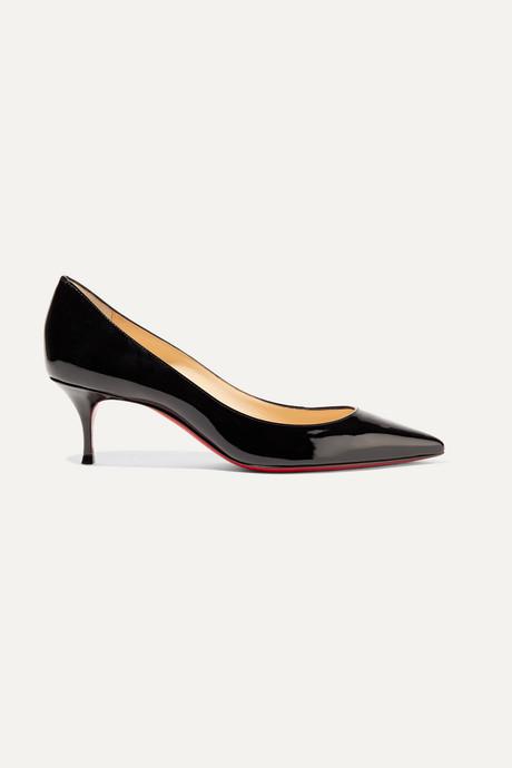 Black Pigalle Follies 55 patent-leather pumps | Christian Louboutin Cj2rab