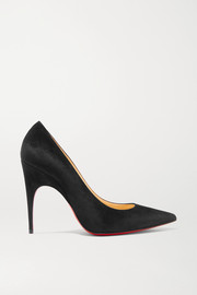Alminette 100 suede pumps